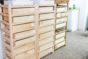 Alegna Soap® curing racks