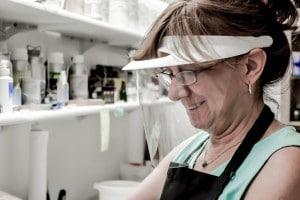 Alegna Soap® Long Island Soap Making Op-d-op visor