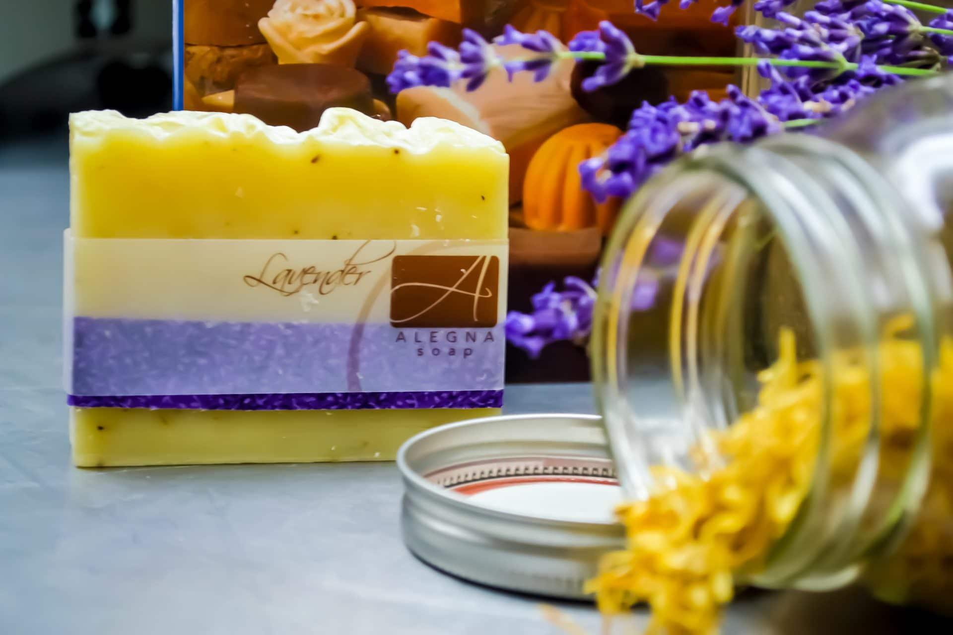 Lavender Soap Story