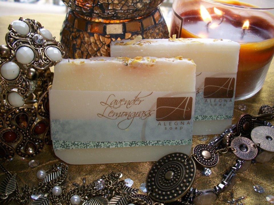Alegna Soap® Lavender Lemongrass Soap