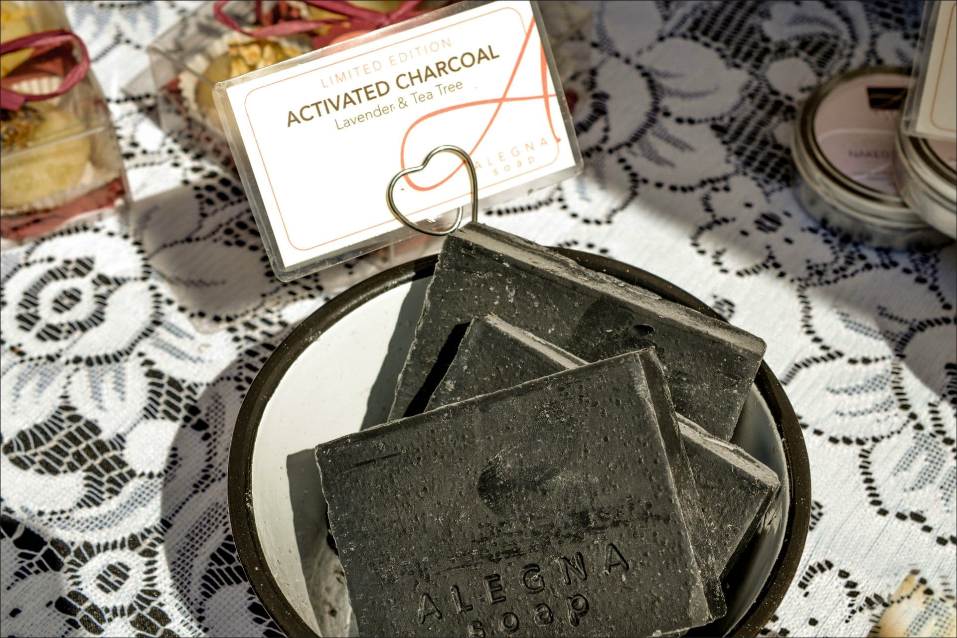 Alegna Soap® Activated Charcoal Soap