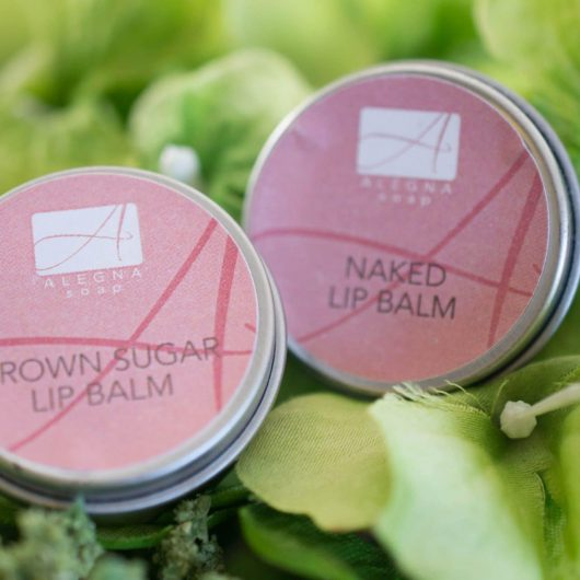 Alegna Soap® Brown Sugar & Naked Lip Balms