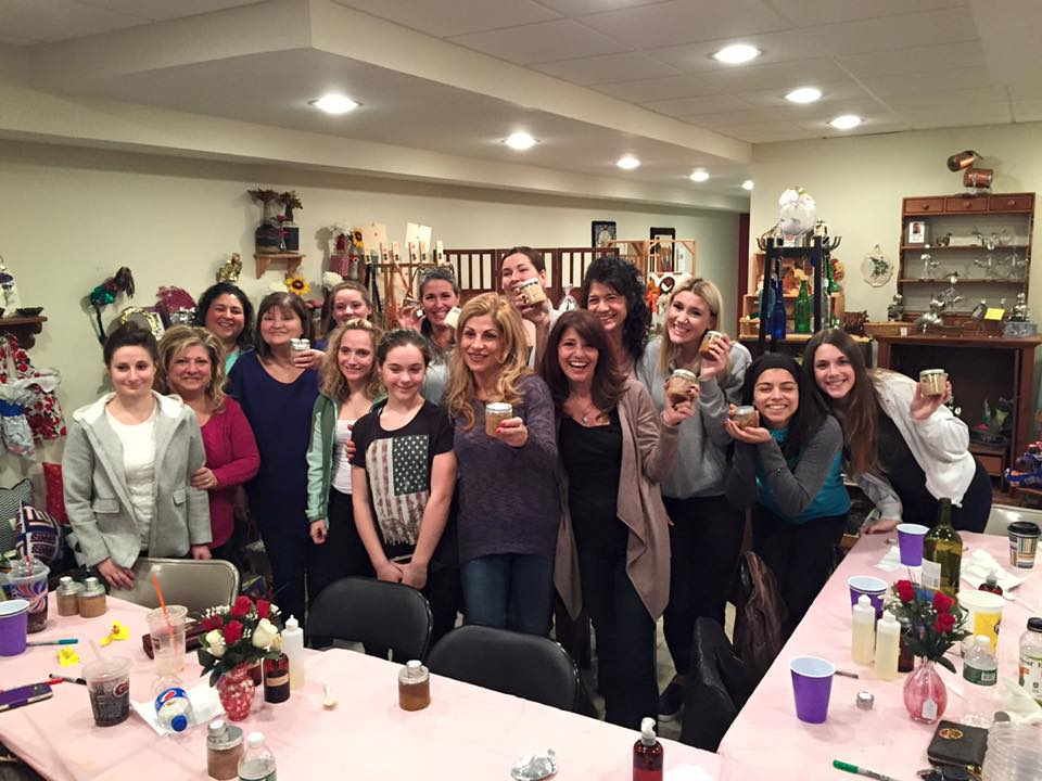 Alegna Soap® Long Island scrub party