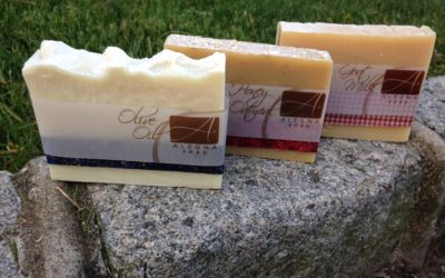 Alegna Soap® the unscented trio