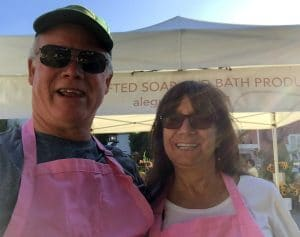 Annual fair at Argyle Lake Alegna soap®