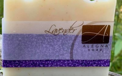 Alegna Soap® best place to store your handcrafted soap