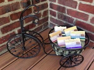 Bike soap at Pams 5.25.15
