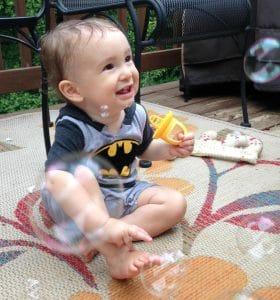 Alegna Soap® bubble machine