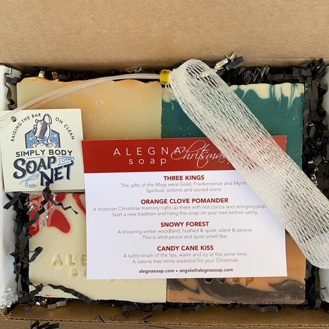 Christmas Box Alegna Soap