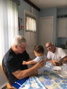 Dad and Bri and Luke