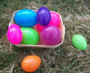 Egg hunt for blog