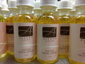 Alegna Soap® facial oil