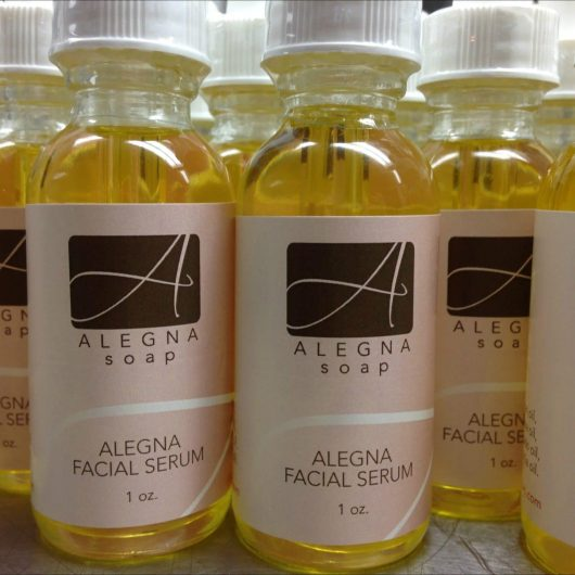 Alegna Soap® facial oil