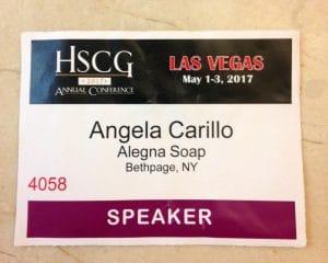 Alegna Soap® HSCG 2017 conference