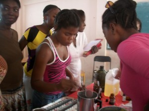 Alegna Soap® in Haiti