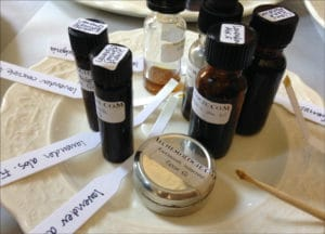 Natural perfume making