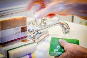 Alegna Soap® Bathroom smell better