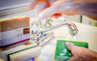 Alegna Soap® Bathroom smell better