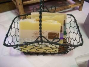 Lavender Lemongrass basket