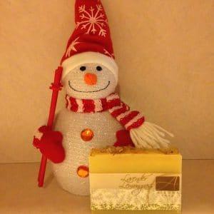 Lavender Lemongrass snowman