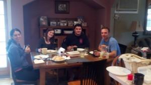 Lisa, Elaine, Leo & Steve