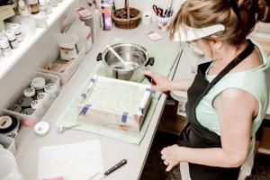 Making soap 7