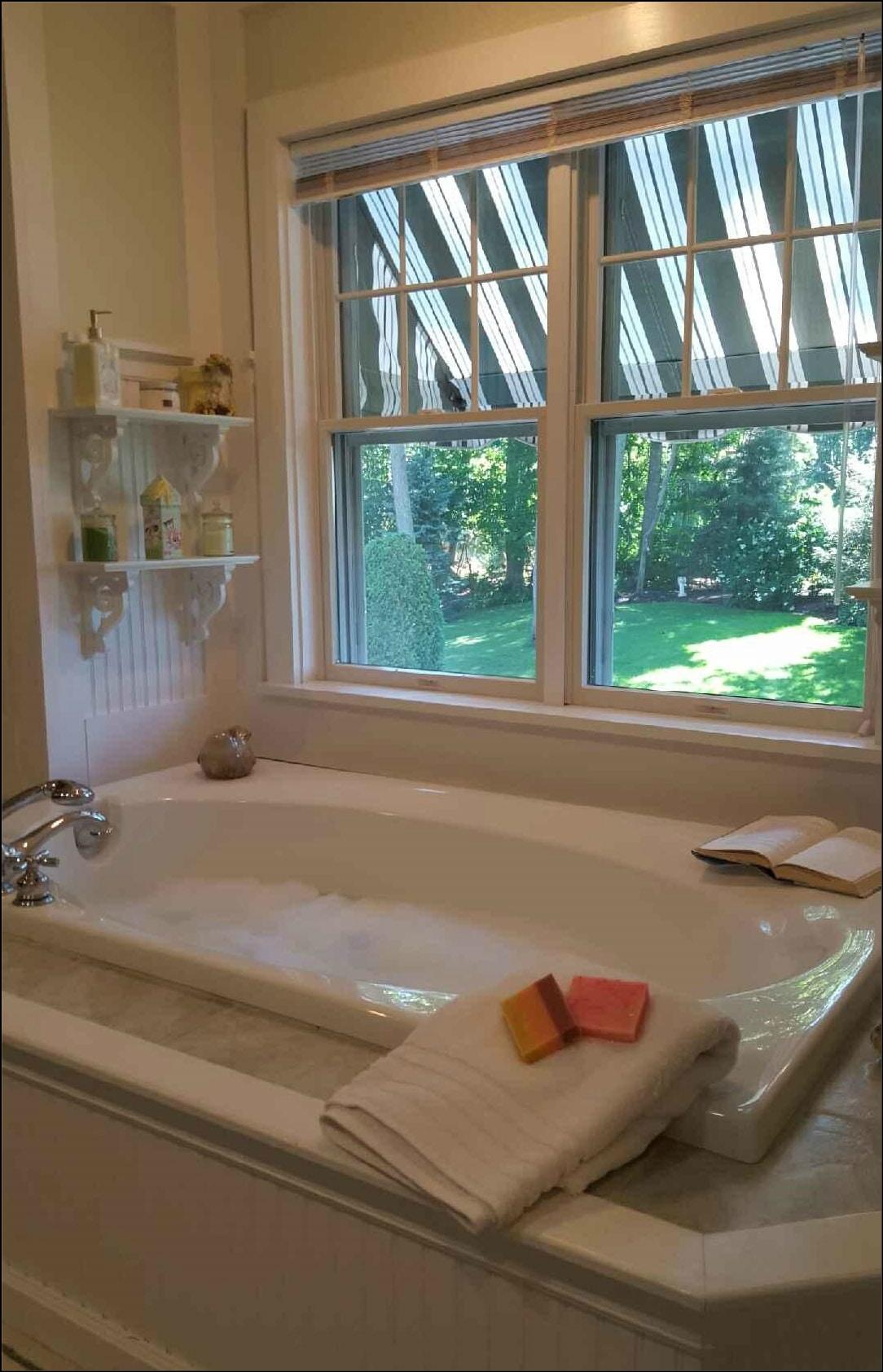 Alegna Soap® in Margies bathtub