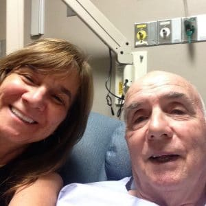 Me and dad in hospital