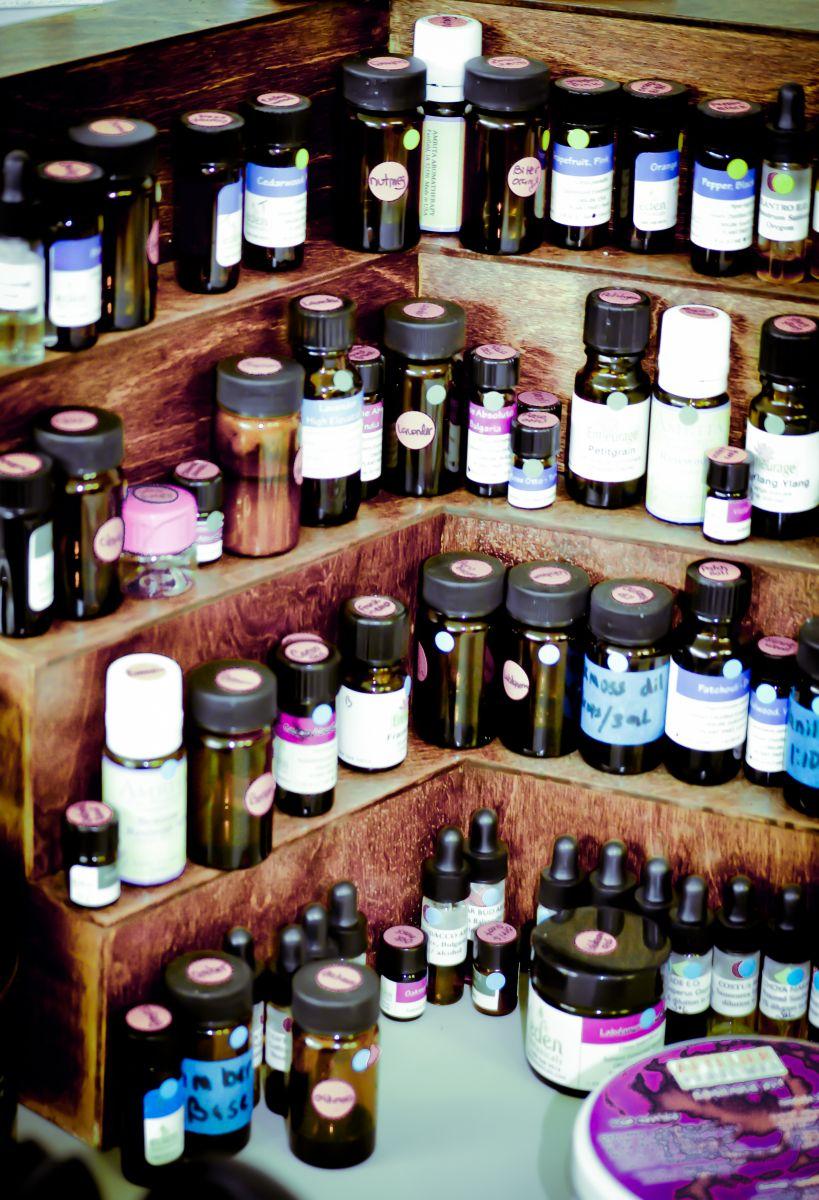 Alegna Soap® perfuming organ