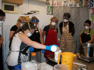 Alegna Soap® Long Island Soap Making Class
