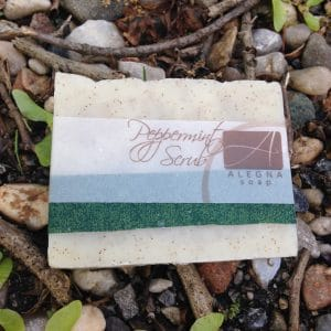 Alegna Soap® Peppermint Scrub