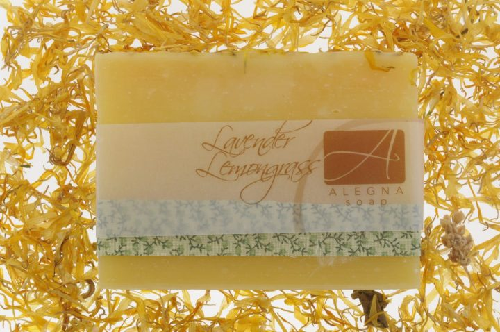 How long does a bar of soap last Alegna Soap® Lavender Lemongrass soap