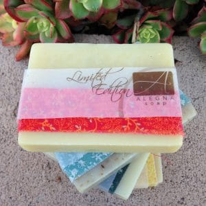 Alegna Soap® Limited Edition soaps