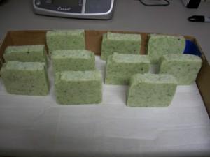 Seaweed seawater soap 8