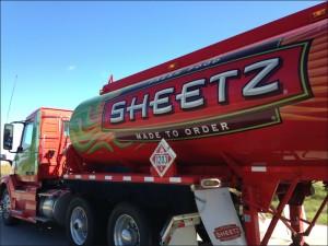 Sheetz truck alegnasoap_com