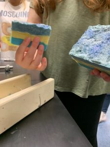 Alegna SOap® soap making in chemistry class