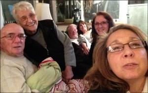 Thanksgiving selfie alegnasoap