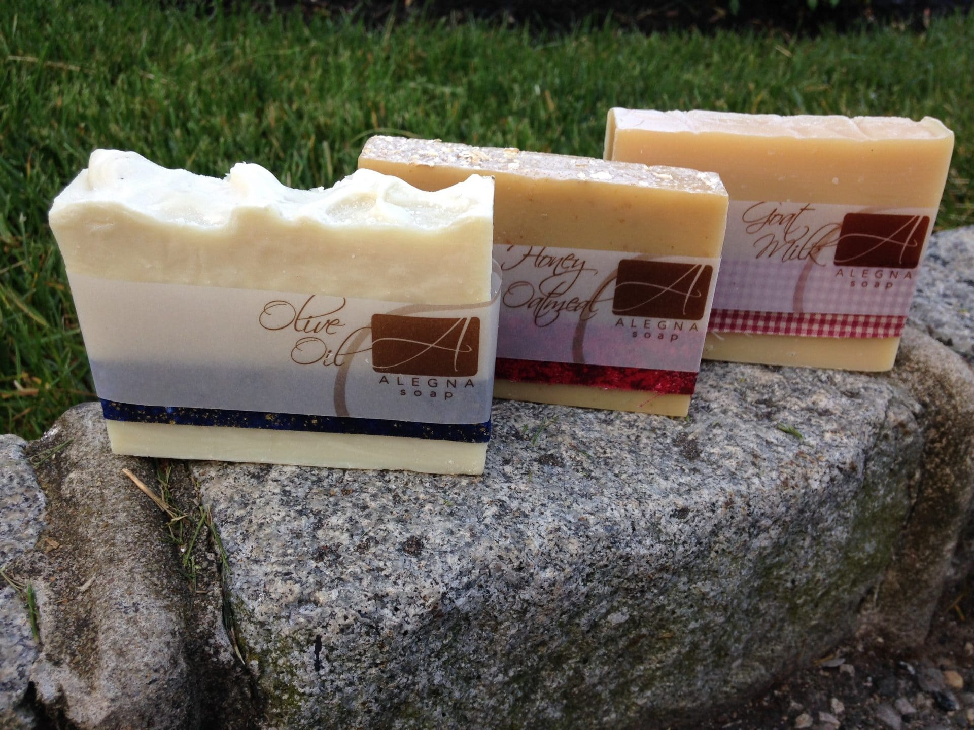Alegna Soap® Unscented Trio