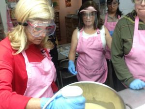 Alegna Soap® soap making class
