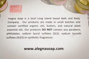 Alegna Soap® Long Island Bath and Body Company