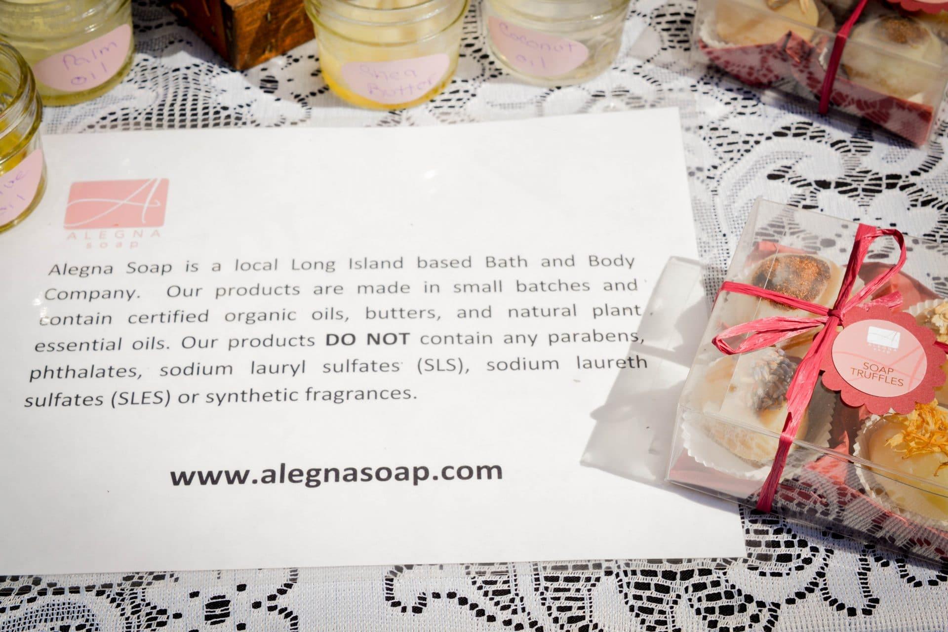 Alegna Soap® Long Island Soap Company how to choose a handcrafted soap