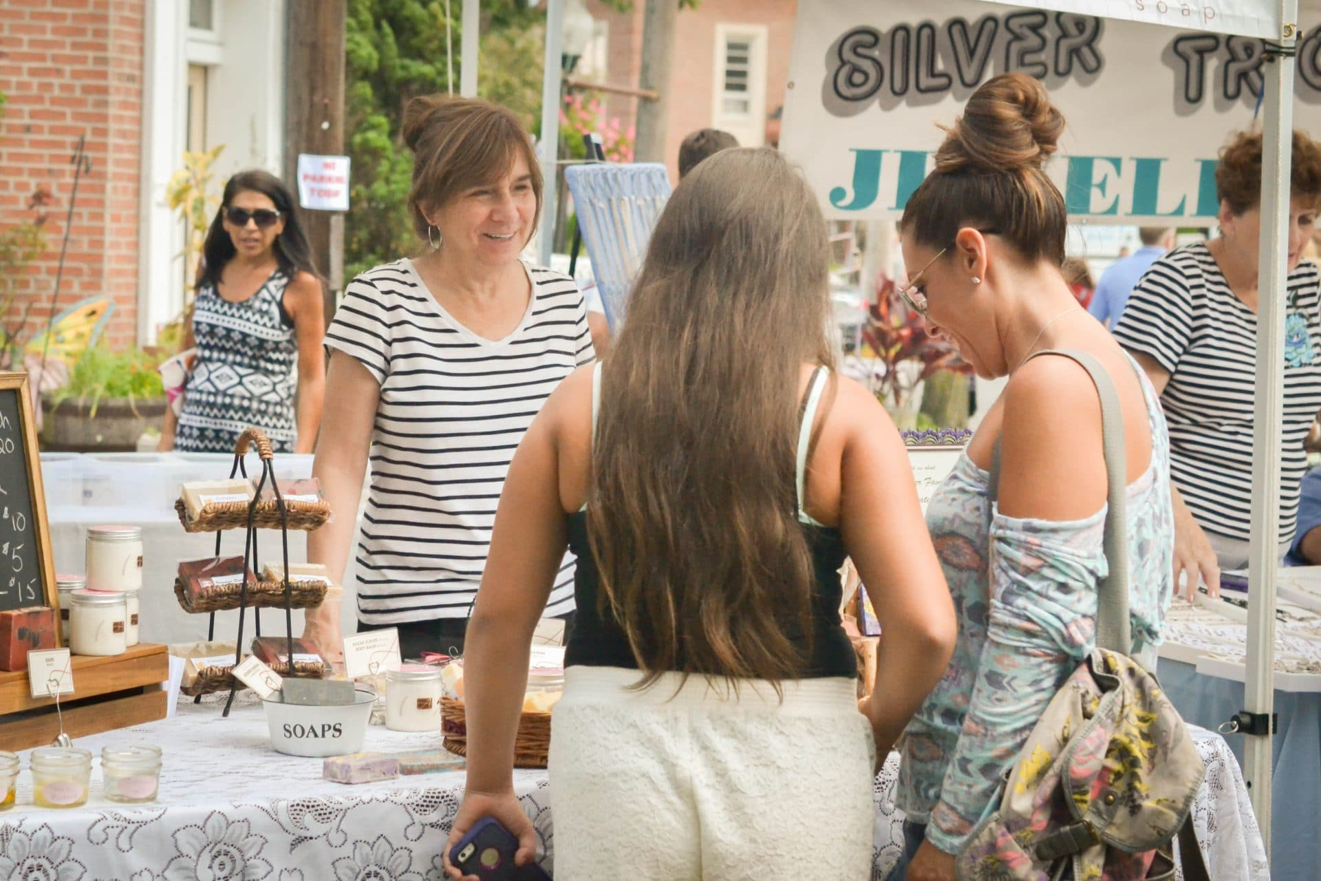 Alegna Soap® outdoor fair