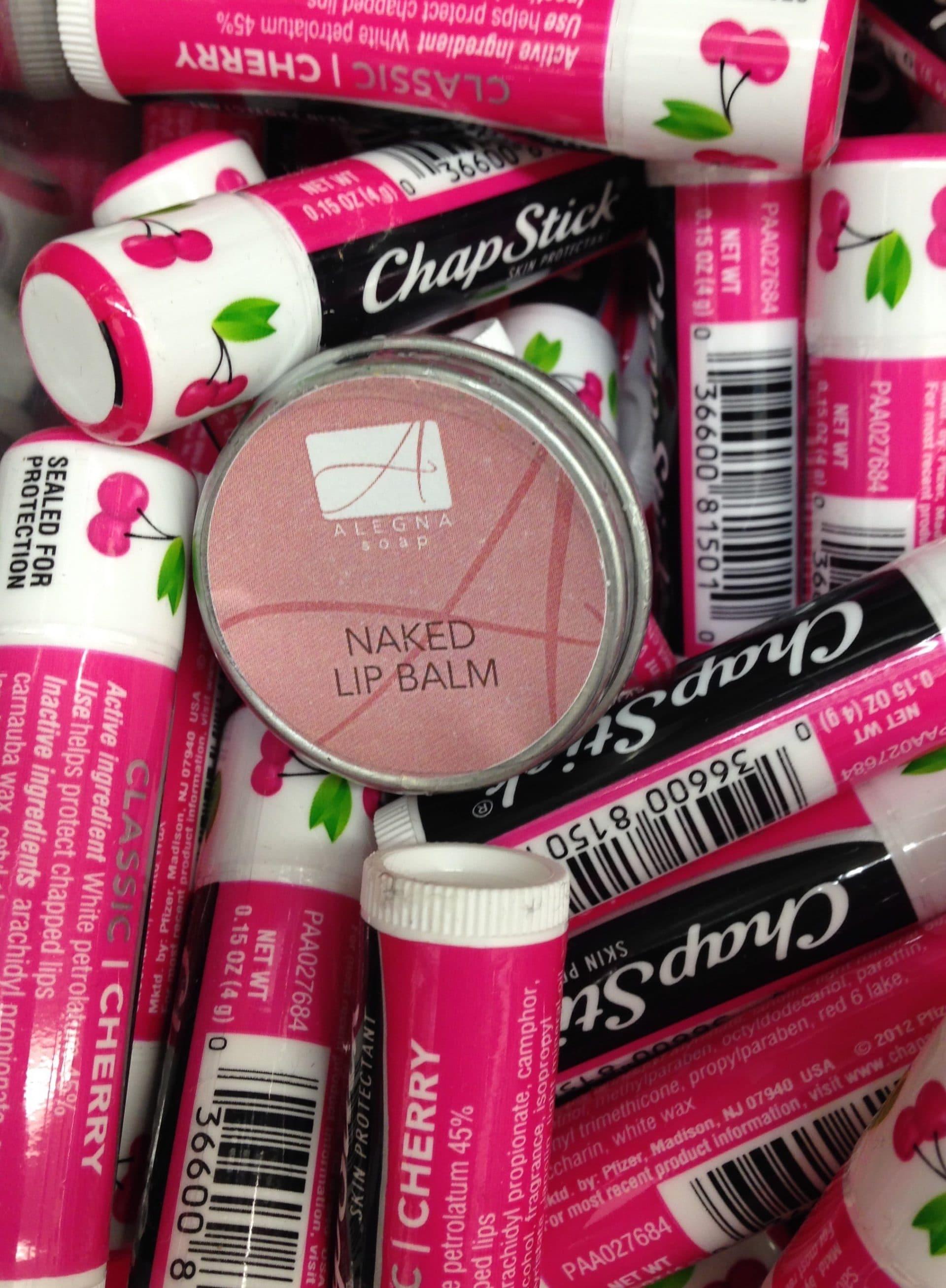 Photo Friday- Naked Lip Balm