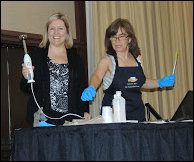 Marla and Angela Alegna Soap® soap conference