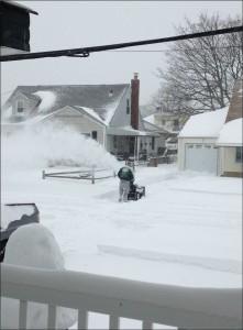 snowblowing Brian